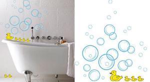 Bubble Ducks 24 Wall Stickers