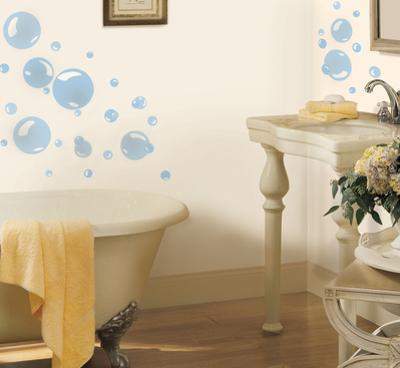Bubbles Peel & Stick Wall Decals