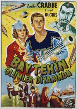Buck Rogers Turkish Movie Poster