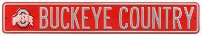Buckeye Country Steel Sign