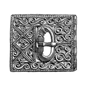 Buckle from Smithfield, London, 1893
