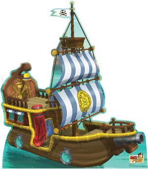 Bucky Pirate Ship - Jake and the Neverland Pirates Lifesize Standup