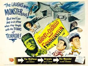 Bud Abbott Lou Costello Meet Frankenstein, 1948