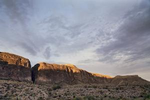 The Mesa De Anguila in Big Bend National Park. by Bud Force