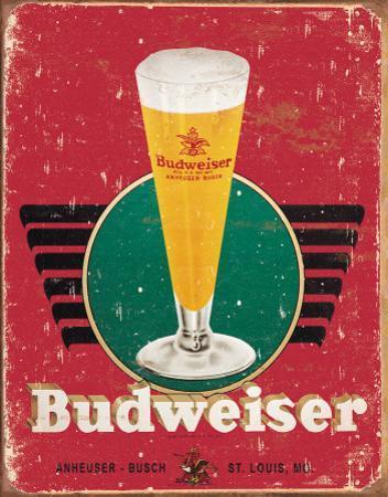 Bud - Retro Glass & Logo