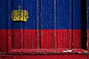 Liechtenstein Flag by budastock