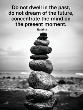 Buddha Focus Quotation Motivational Poster