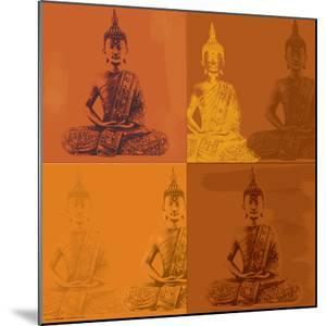 Buddha Quad - Orange