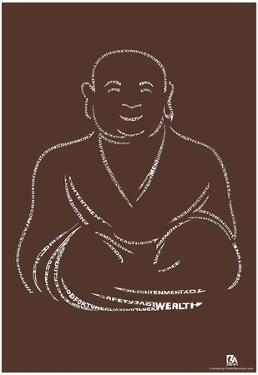 Buddha Text Poster