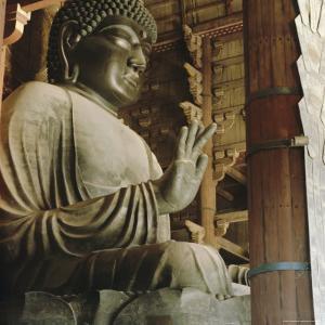 Buddha, Todaiji Temple, Japan by G Richardson
