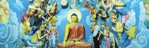 Buddhist Temple, Sri Pushparama, Sri Lanka