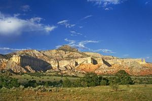 Red Rock Country Landscape around Ghost Ranch and Abiquiu, New Mexico by Buddy Mays