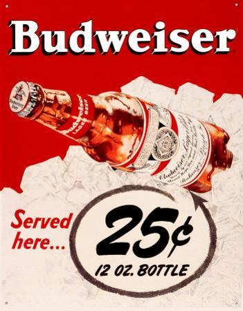 Budweiser 25 Cents