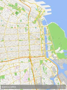 Buenos Aires, Argentina Map