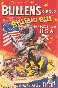Buffalo Bill Circus Poster