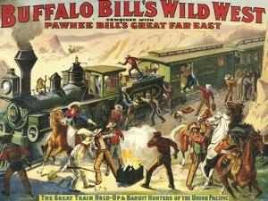 Buffalo Bill's Wild West Show, 1907, USA