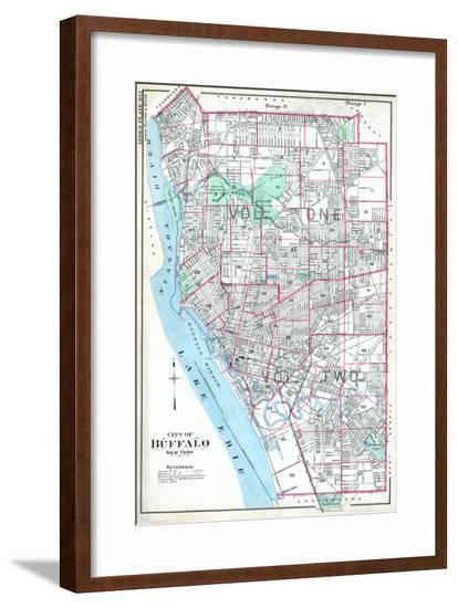Buffalo, New York, United States, 1915--Framed Giclee Print