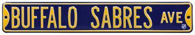Buffalo Sabres Ave Steel Sign