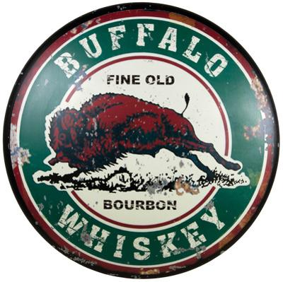 Buffalo Whiskey Dome Sign