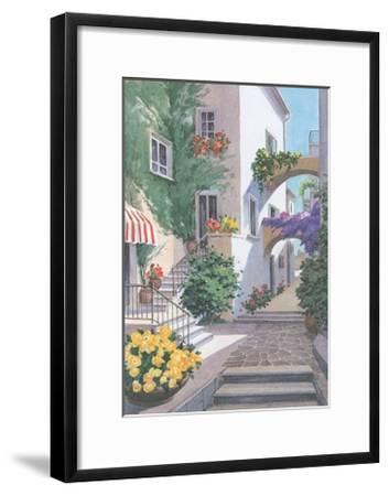Buganvillea 9--Framed Art Print