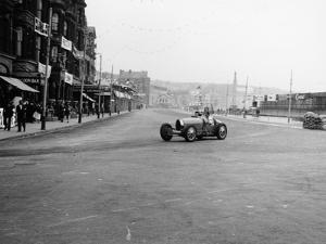 Bugatti in a Race on the Isle of Man, 1933