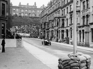 Bugatti in the Mannin Moar Race, Isle of Man, 1933