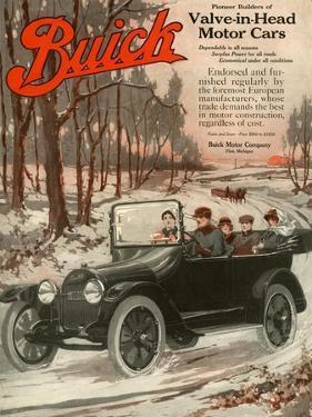 Buick Division of General Motors, Magazine Advertisement, USA, 1910