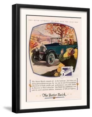 Buick, Magazine Advertisement, USA, 1925