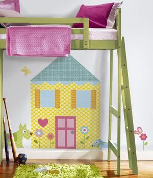 Build-a-House Peel & Stick Wall Decal MegaPack