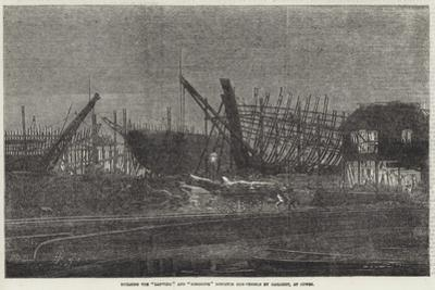 Building the Lapwing and Ringdove Dispatch Gun-Vessels by Gaslight, at Cowes