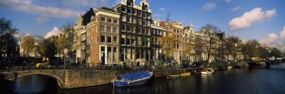 Buildings Along a Canal, Amsterdam, Netherlands
