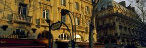 Buildings Along a Street, Boulevard Saint-Michel, Paris, Ile-De-France, France