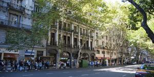 Buildings Along Avenida De Mayo, Buenos Aires, Argentina