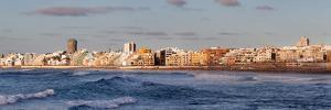 Buildings at Beachfront, Playa De Las Canteras, Las Palmas De Gran Canaria, Gran Canaria, Spain
