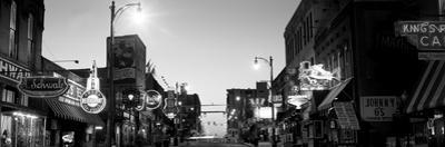 Buildings in a City at Dusk, Beale Street, Memphis, Tennessee, USA