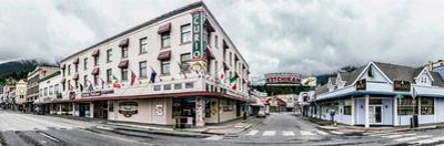 Buildings in a city, Ketchikan, Southeast Alaska, Alaska, USA