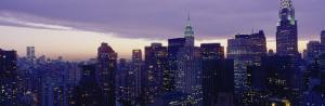 Buildings in a City, Manhattan, New York City, New York State, USA