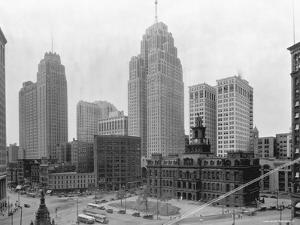 Buildings in Downtown Detroit
