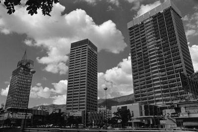 Buildings in the Modern Section of Caracas