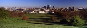 Buildings Near a Park, Greenwich Park, Greenwich, London, England, United Kingdom