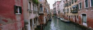 Buildings on Both Sides of a Canal, Grand Canal, Venice, Italy