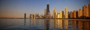 Buildings on the Waterfront, Chicago, Illinois, USA