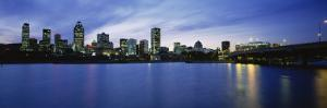 Buildings on the Waterfront, Lachine Canal, Montreal, Quebec, Canada