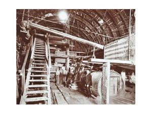 Bulkhead to Retain Compressed Air in the Rotherhithe Tunnel, London, October 1906