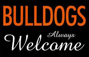 Bulldogs Always Welcome