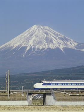 Bullet Train, Mount Fuji, Japan