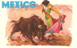 Bullfight Poster, Mexico