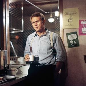 BULLITT, 1968 directed by PETER YATES Steve McQueen (photo)