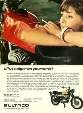 Bultaco el Tigre Motorcycle Ad