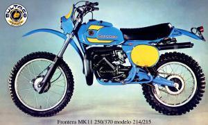 Bultaco Frontera MKII Motorcycle Poster
